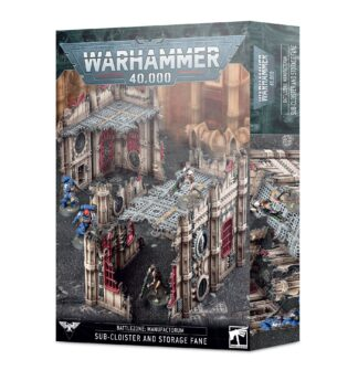 Games Workshop Battlezone Manufactorum Sub-cloister and Storage Fane