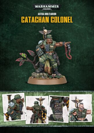 Games Workshop Limited Edition Catachan Colonel