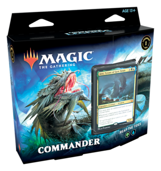 Commander Legends - Commander Deck - Reap the Tides