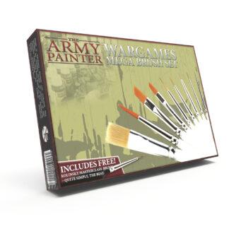 The Army Painter Wargames Mega Brush Set